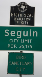 Seguin: A Bird Sanctuary City