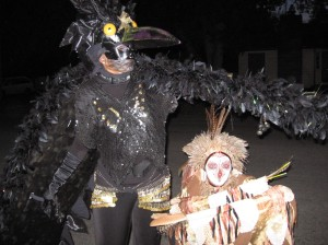 Preparing for the First SOAL Parade: Grackle and Owl