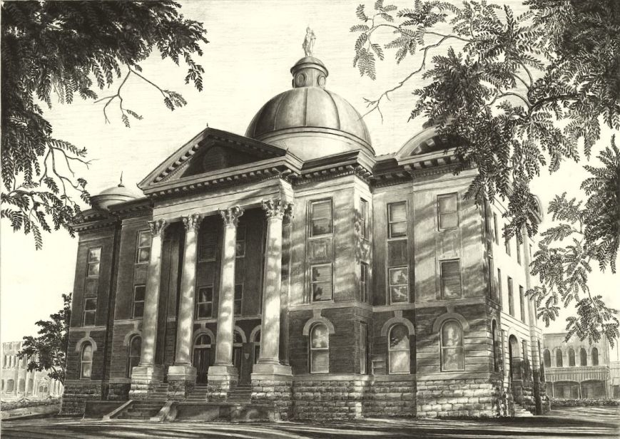 Hays County Court House