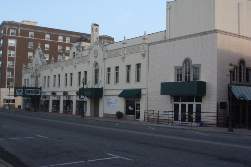 The Coleman Theatre- exterior