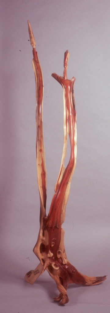 "Splendor of an African Morning Bloodwood H77"" W26"" D33"""