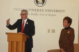 Dr. Stuart Dorsey President, TLU